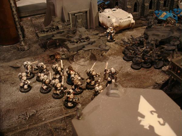 Apocalypse, Battle Report, Celestial Lions, Cities Of Death, Game Table, Objective Marker, Report, Tarkonia Secondus, Terrain, Titan, Warhammer 40,000