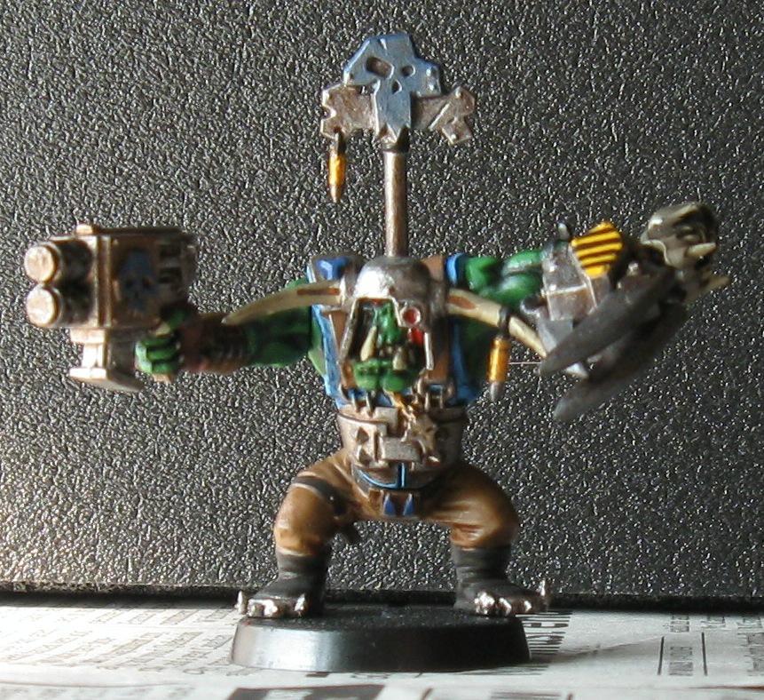 Nob, Orks, Powerklaw, Warhammer 40,000