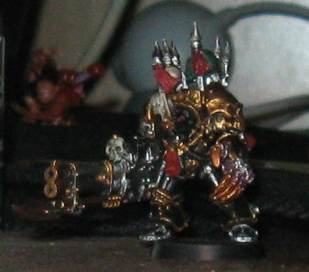 Chaos Space Marines, Terminator with Reaper Auto-Cannon