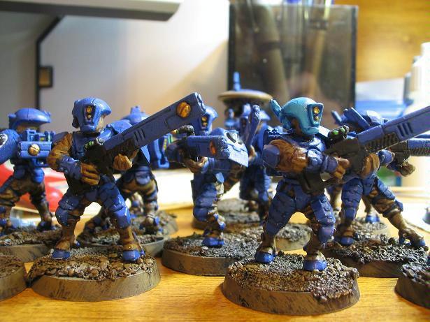 Fire Warriors, Infantry, Tau, Warhammer 40,000