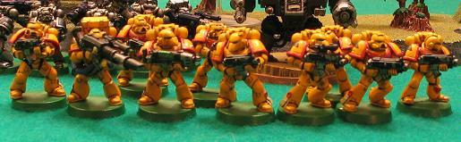 4th Edition, Imperial Fists, Space Marines