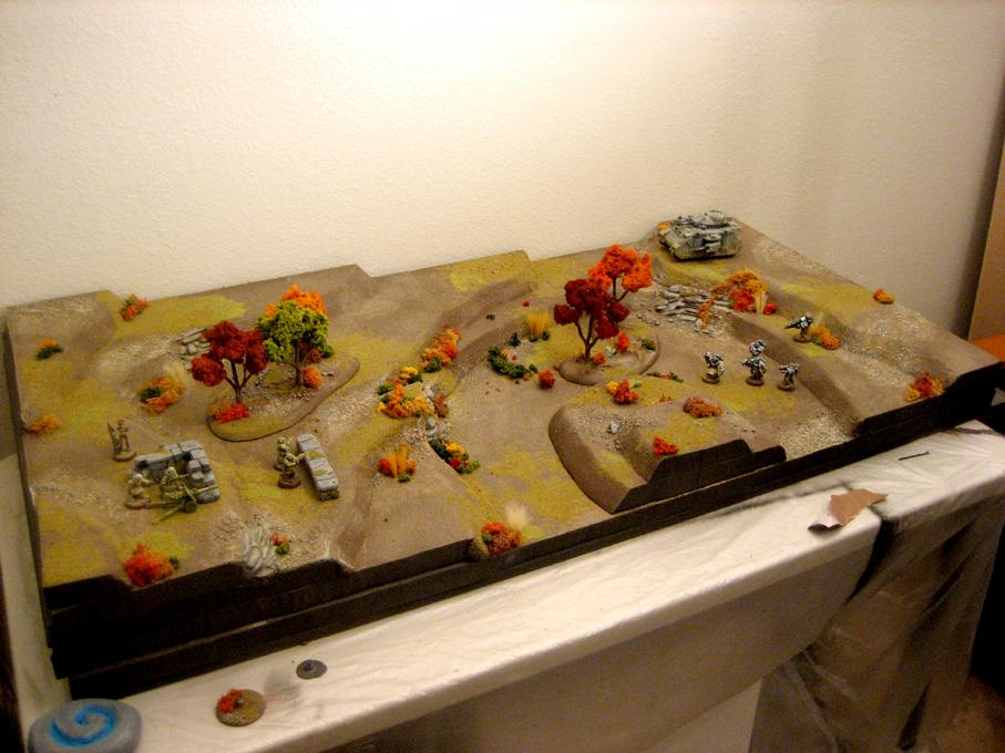 Autumn, Game Table, Terrain