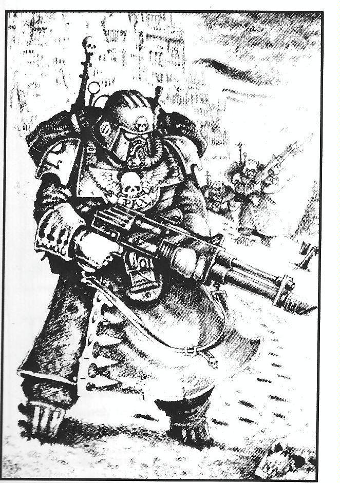 2nd Edition, Concept, Imperial Guard, Jes Goodwin