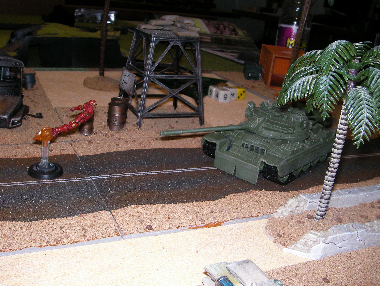 Evolution, Game Table, Heroclix, Iraq, Middle Eastern, Modern, Terrain