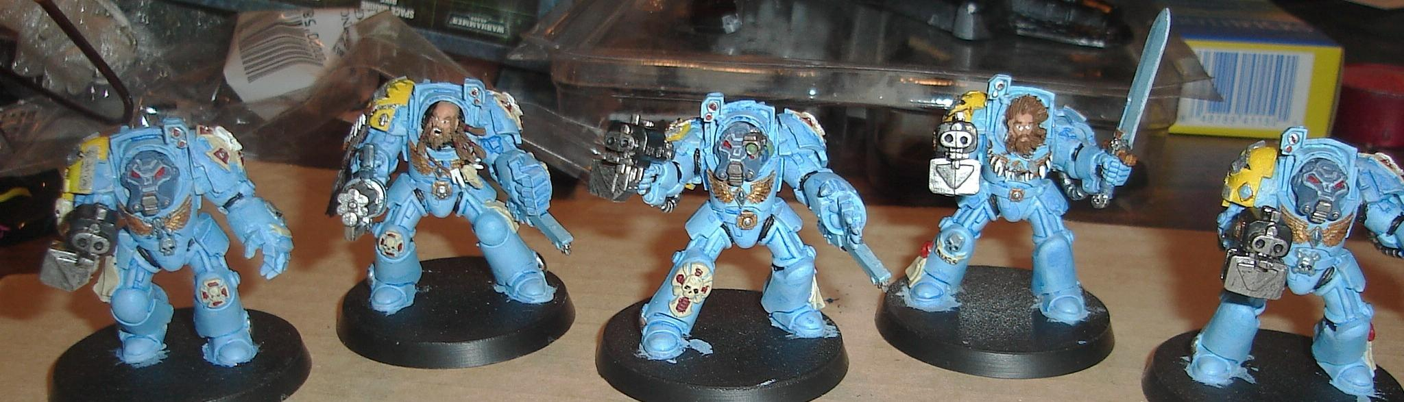 Mould Line, Space Wolves, Terminator Armor, Wolf Guard
