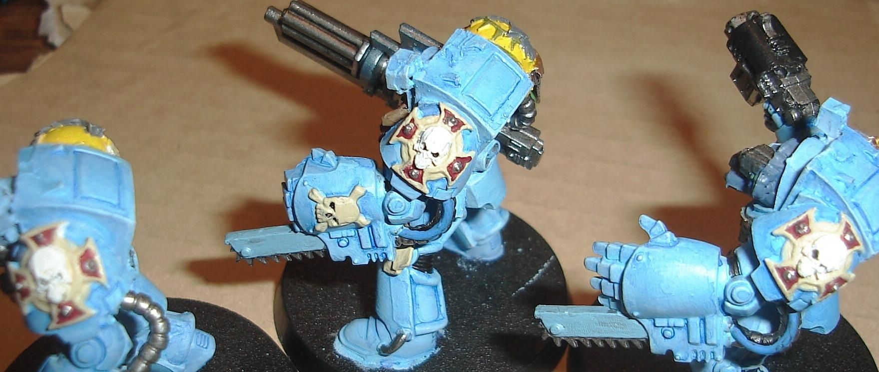 Space Marines, Space Wolves, Terminator Armor, Warhammer 40,000