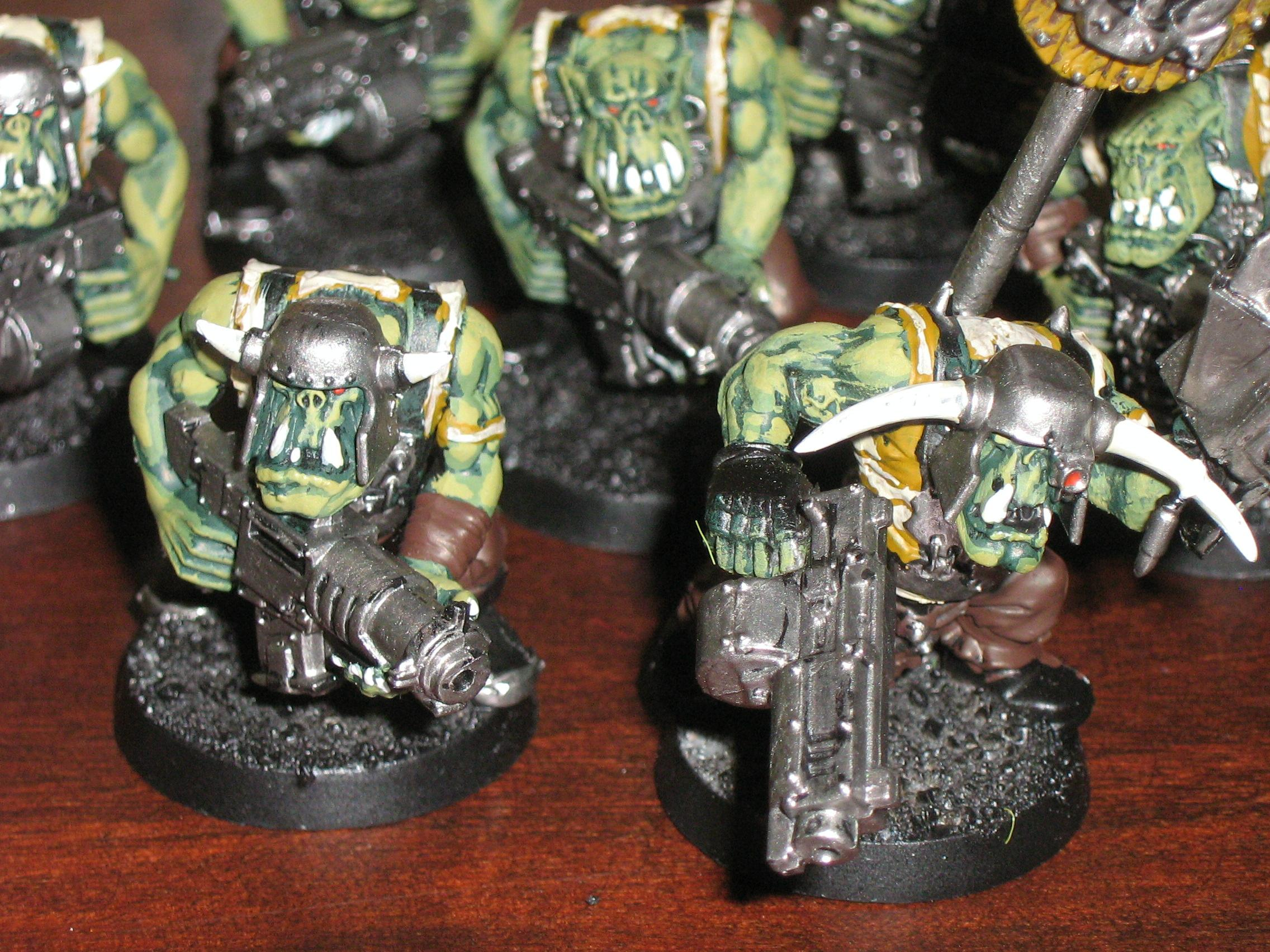 nob and normal ork
