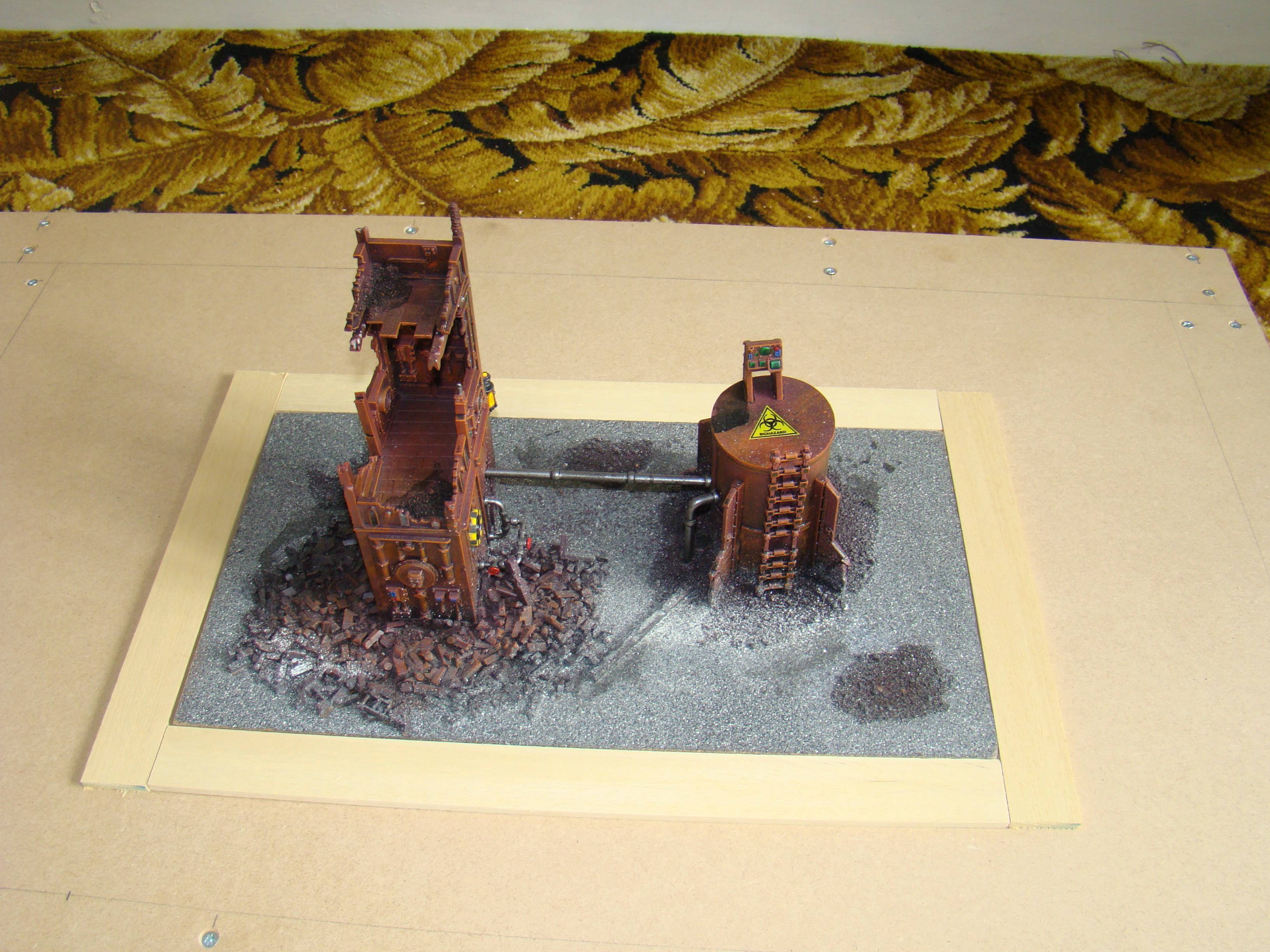 Game Table, Terrain