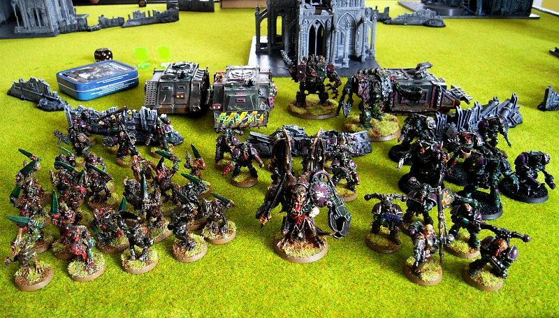 Battle Report, PaniC's 1500pts Nurgle CSM