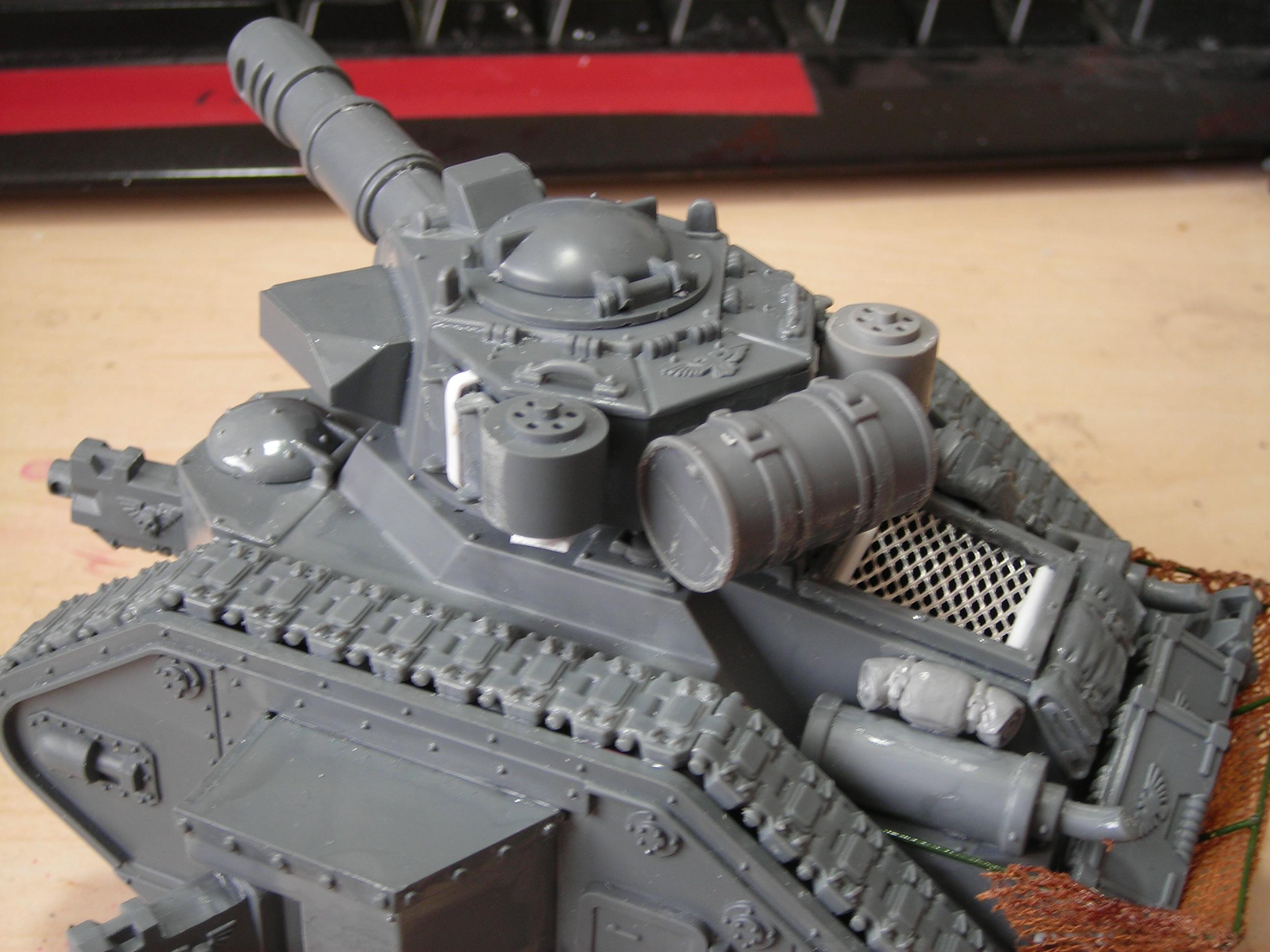 Conversion, Imperial Guard, Leman Russ, Warhammer 40,000