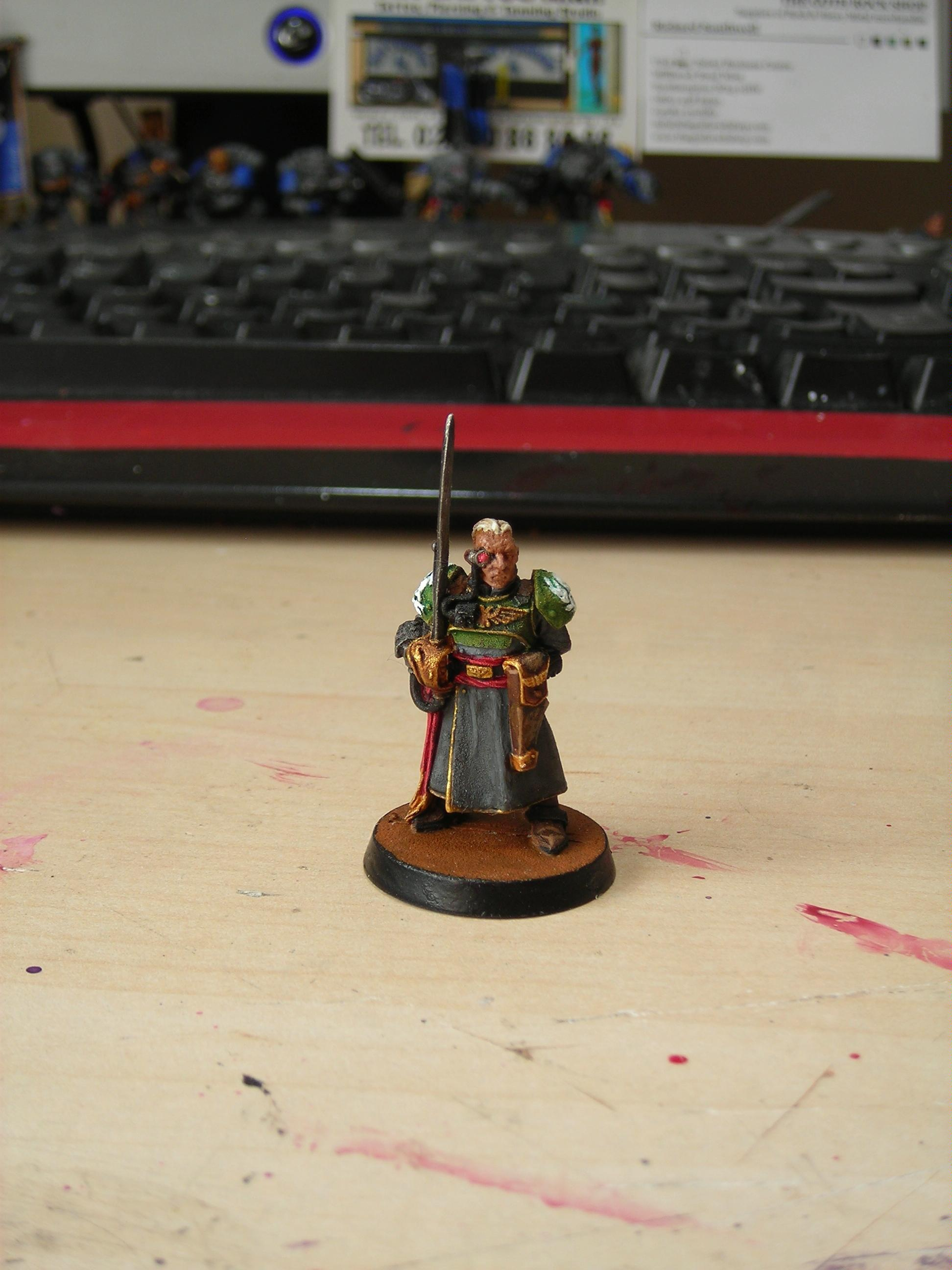 Character, Headquarters, Imperial Guard, Warhammer 40,000