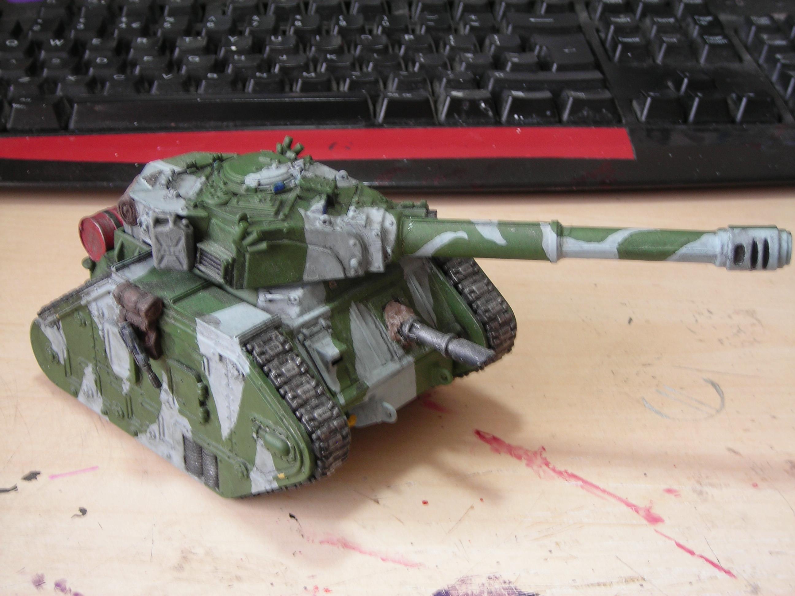 Astra Militarum, Imperial Guard, Leman Russ, Tank, Tank Destroyer, Vanquisher