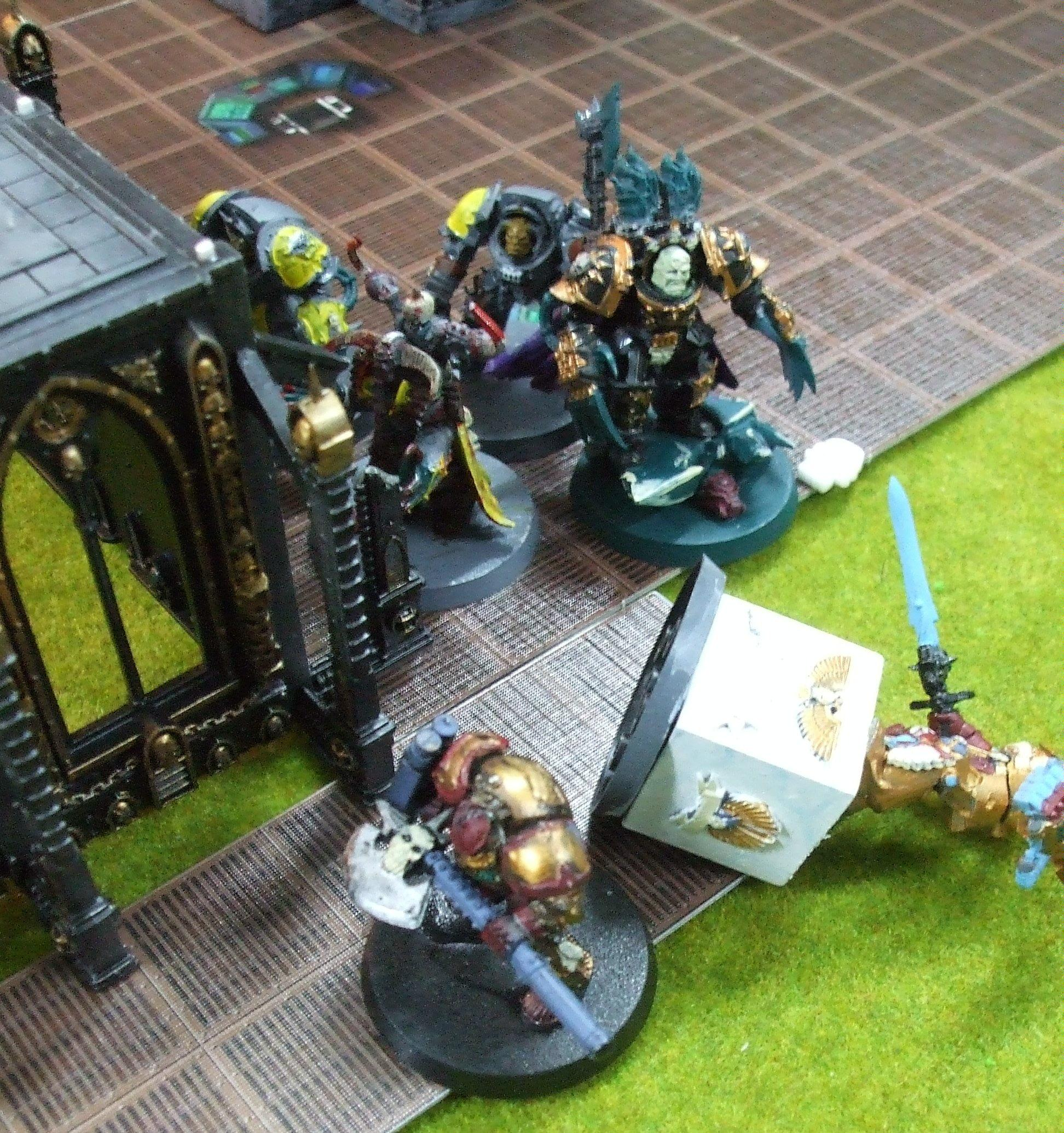 Horus gets the charge!