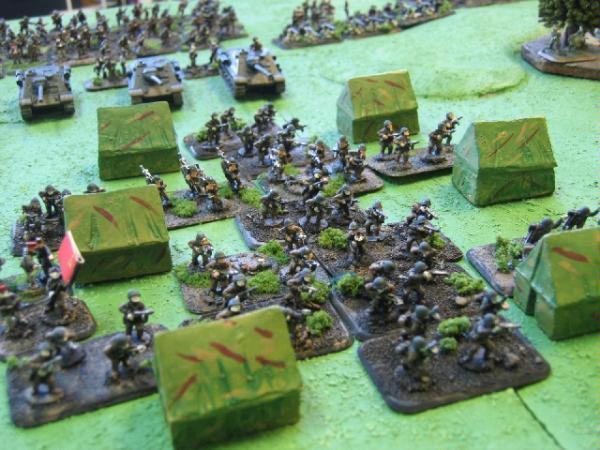 15mm, Flames Of War, Infantry, Russians, Tents, World War 2