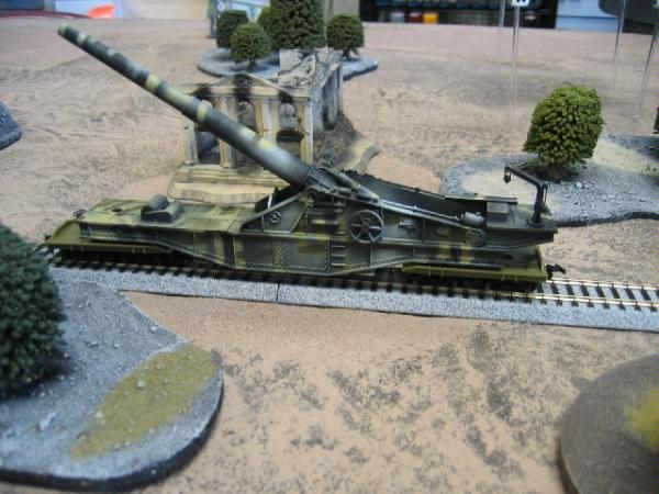 15mm, Artillery, Cannon, Flames Of War, Train Tracks