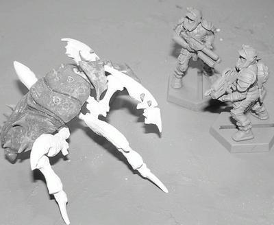 Arachnids, Starship Troopers