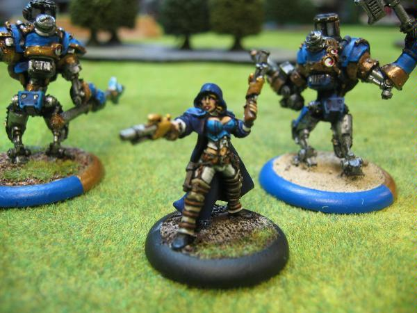 Female, Warmachine, Painted by Robin Lebel