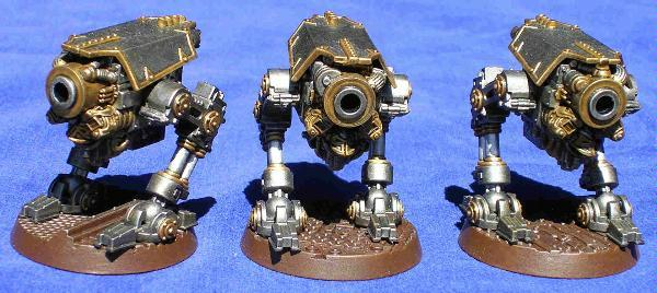 Chaos Space Marines, Iron Warriors, Obliterators, Warmachine