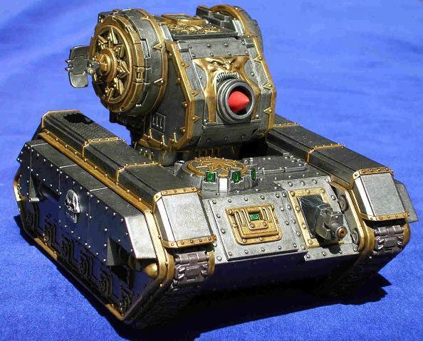 Chaos Space Marines, Conversion, Iron Warriors, Tank