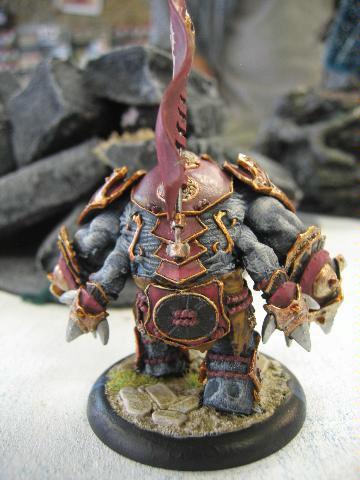 Warmachine, Craig's Titan back