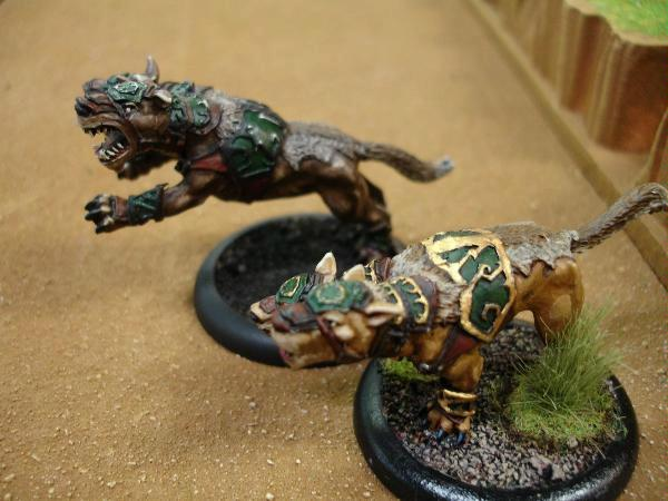 Attack Dogs, Raef's finished hound and his work in progress