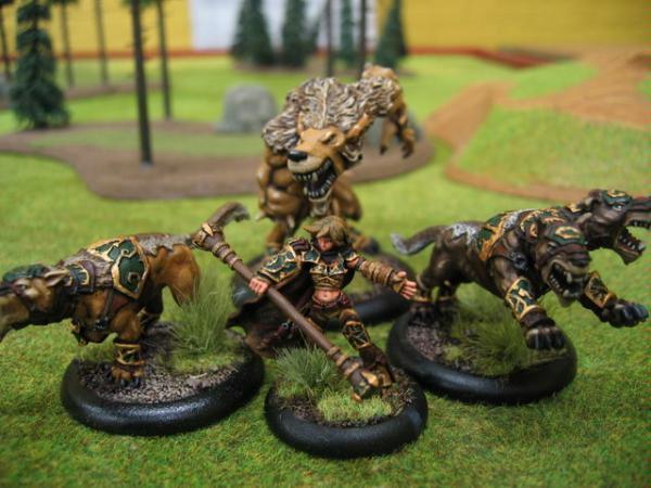 Battlegroup, Circle Of Orboros, Hordes, Warbeast, Warlock