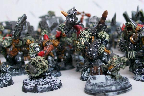 Slugga boyz and ammo runts
