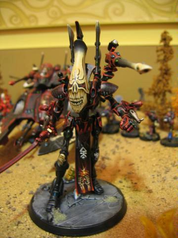 Adepticon, Conversion, Eldar, Freehand, Skull, Warhammer 40,000, Wraithlord