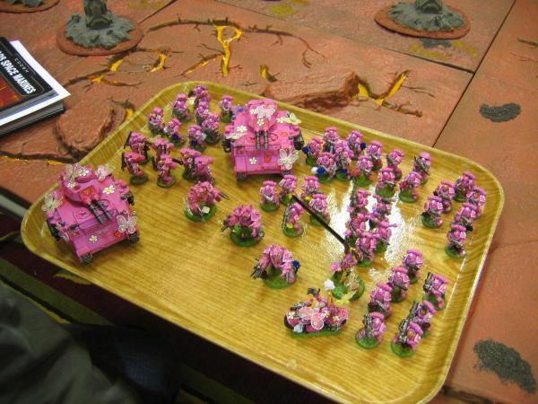 Army, Pink, Space Marines, Warhammer 40,000