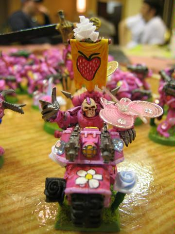 Bike, Chaos Space Marines, Cute, Humor, Pink