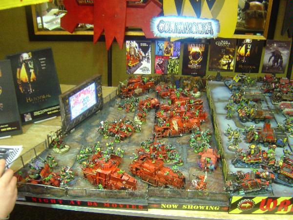 Battlewagon, Display Board, Drive-in, Orks, Terrain