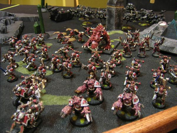 Adepticon, Army, Chaos Space Marines, Khorne, Warhammer 40,000