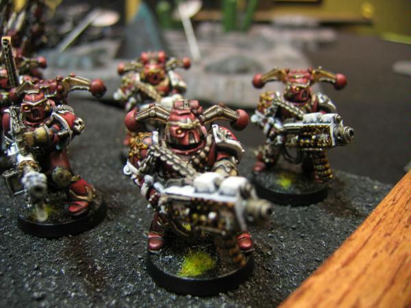 Chaos, Chaos Space Marines, Havocs, Khorne, Warhammer 40,000
