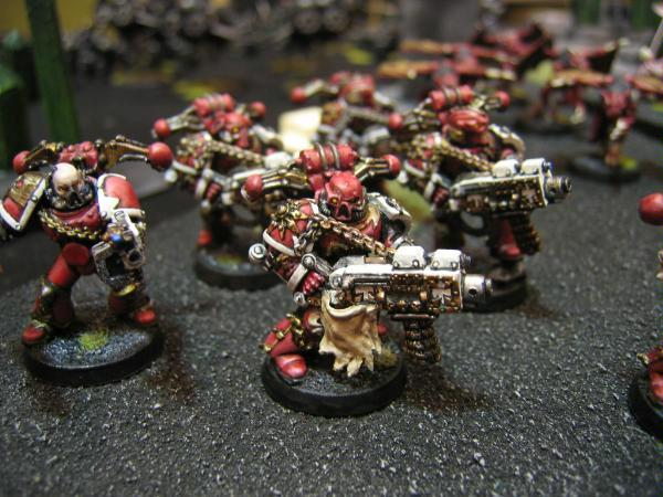 Chaos Space Marines, Havocs, Khorne, World Eaters
