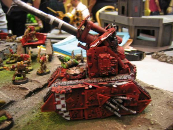 Basilisk, Guard Abuse, Looted, Orks, Tank
