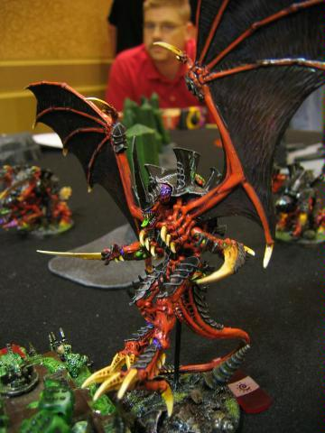 Flyrant, Headquarters, Hive Tyrant, Tyranids, Warhammer 40,000