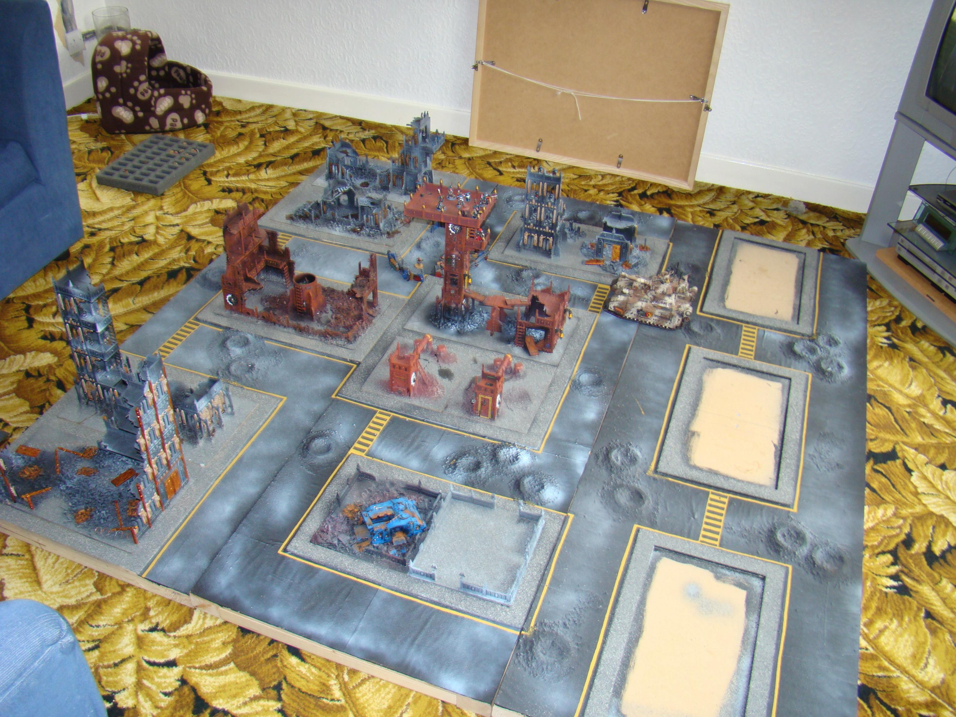 Cities Of Death, Game Table