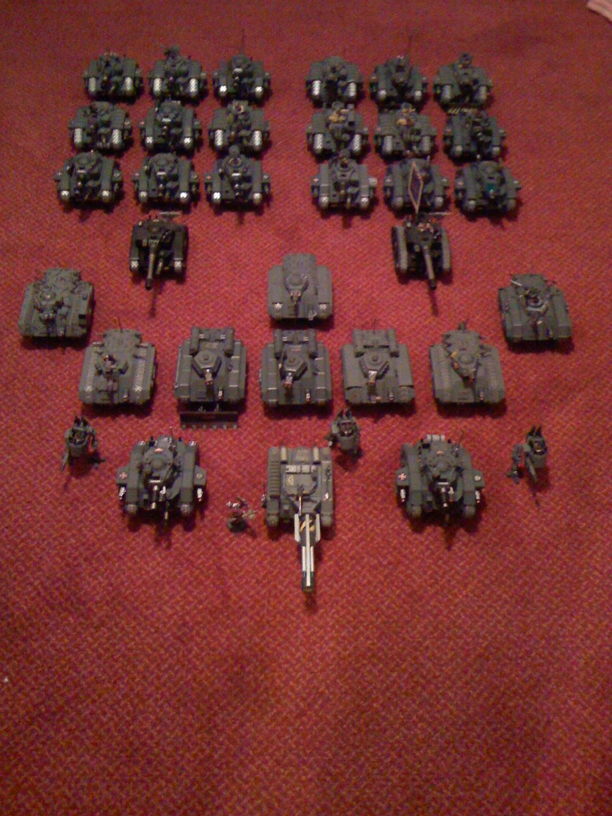 Armored Company, Army, Imperial Guard, Warhammer 40,000