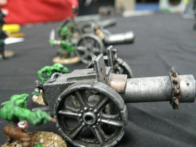 Battle Report, Big Gunz, Gretchin, Imperial Guard, Orks, Warhammer 40,000