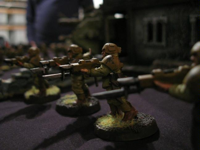Battle Report, Chaos, Daemons, Imperial Guard, The Lost And The Damned, Traitor Guard, Warhammer 40,000