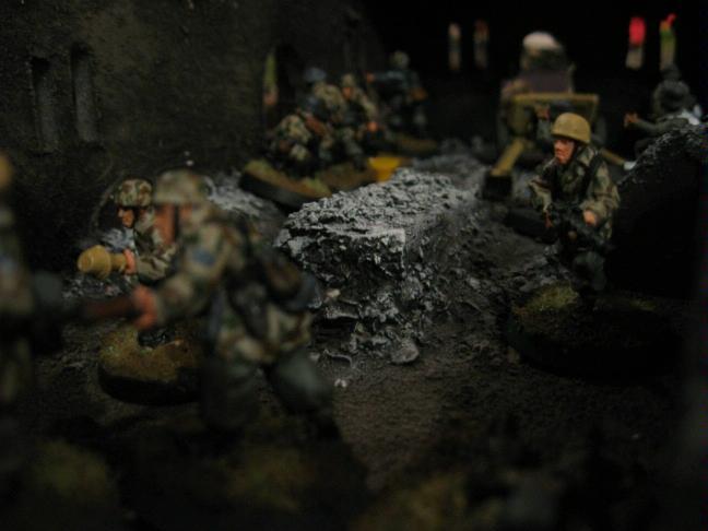 25mm, 28mm, Battle Report, Disposable Heroes, Germans, World War 2
