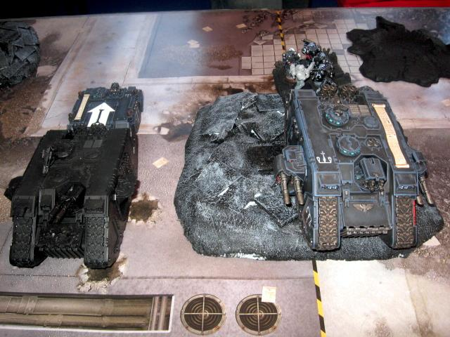 Battle Report, Daemons, Land Raider, Warhammer 40,000