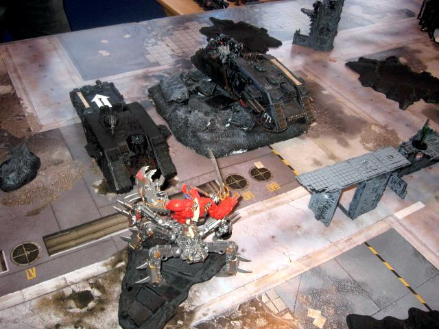 Battle, Battle Report, Daemons, Space Marines, Warhammer 40,000