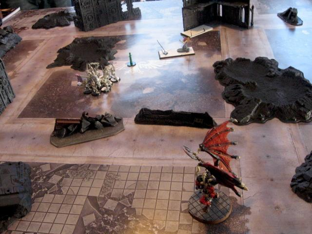 Battle Report, Daemons, Warhammer 40,000