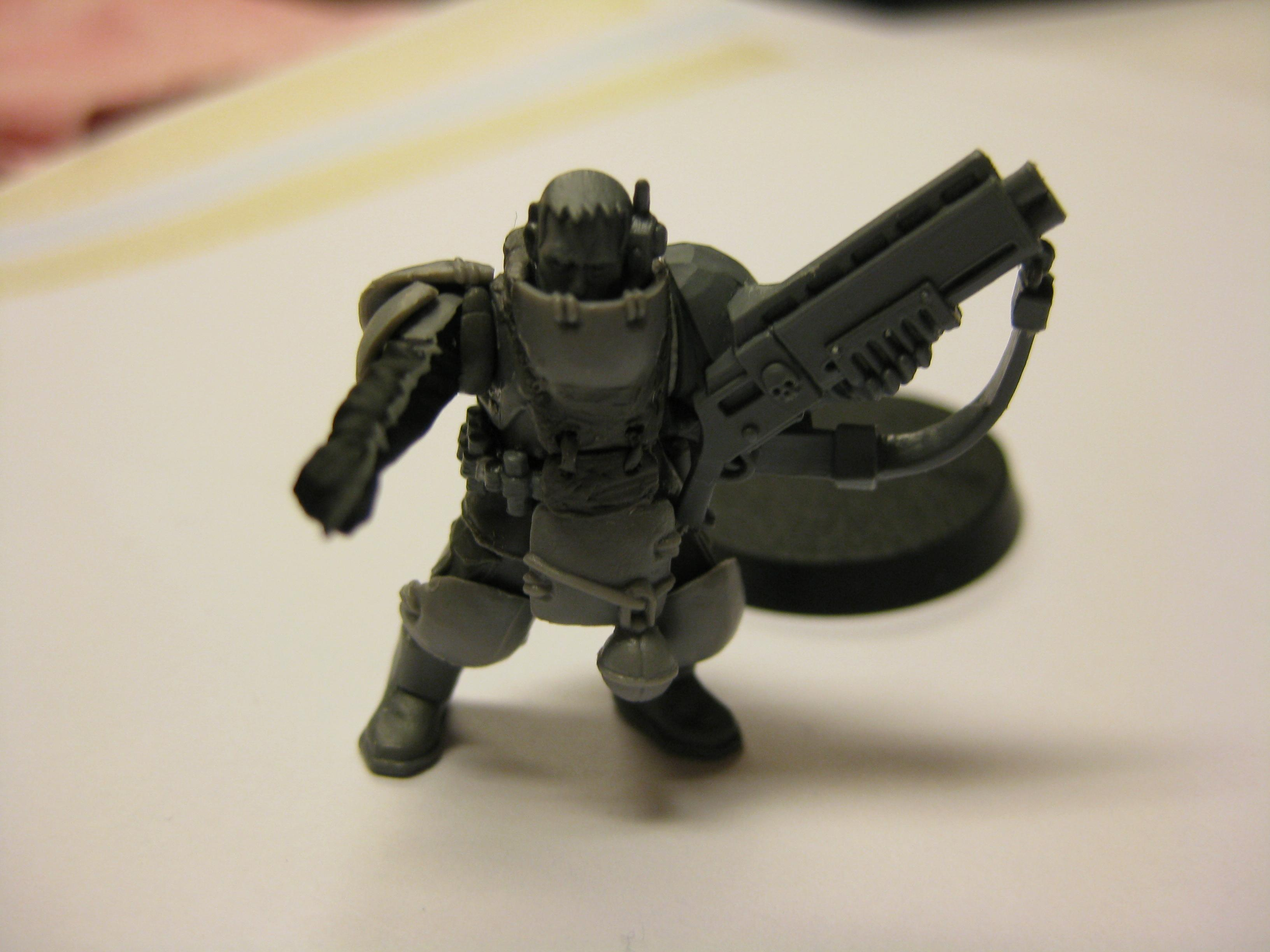 First shot, with arms. Very much WIP