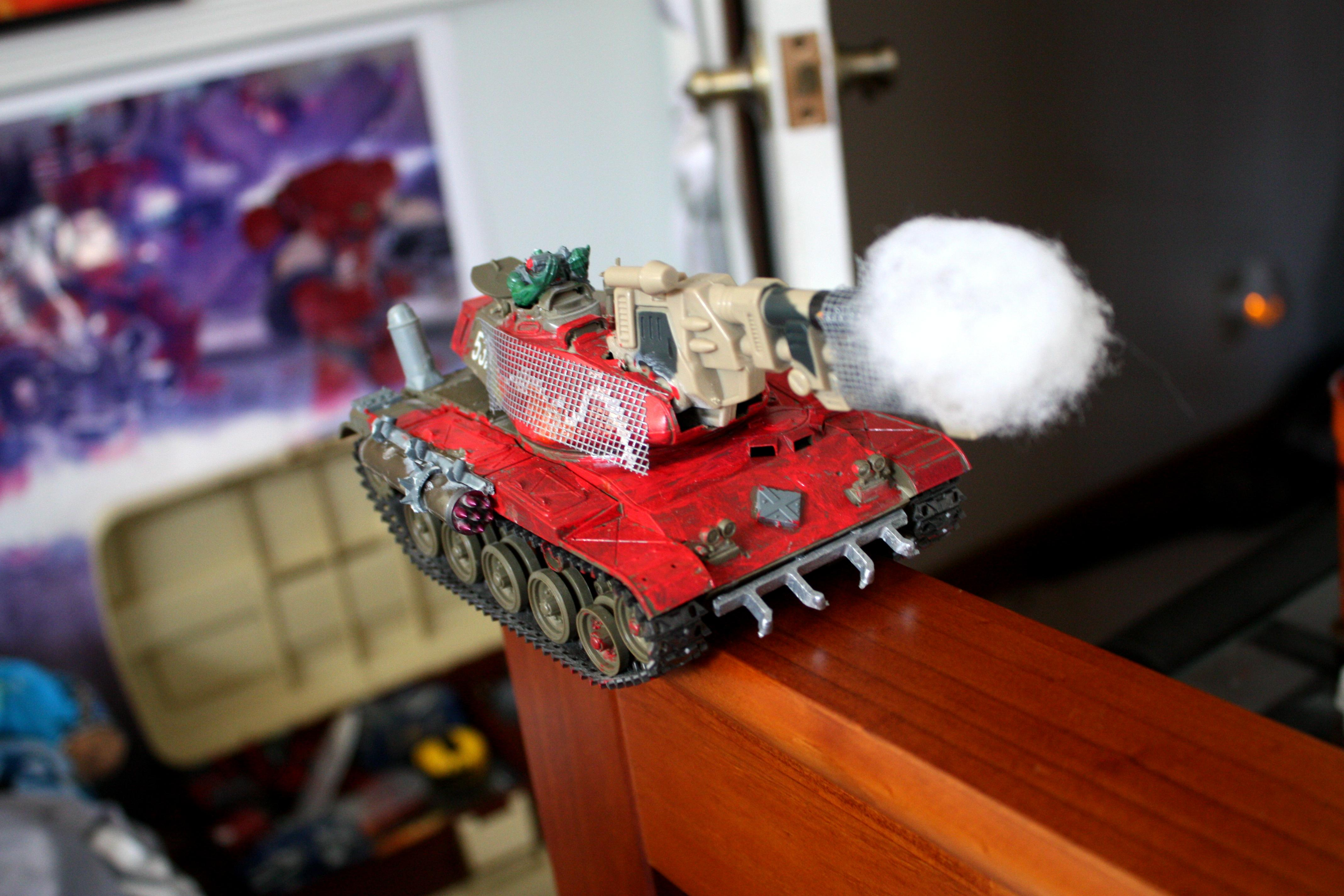 Looted, Orks, Wagon, Warboss