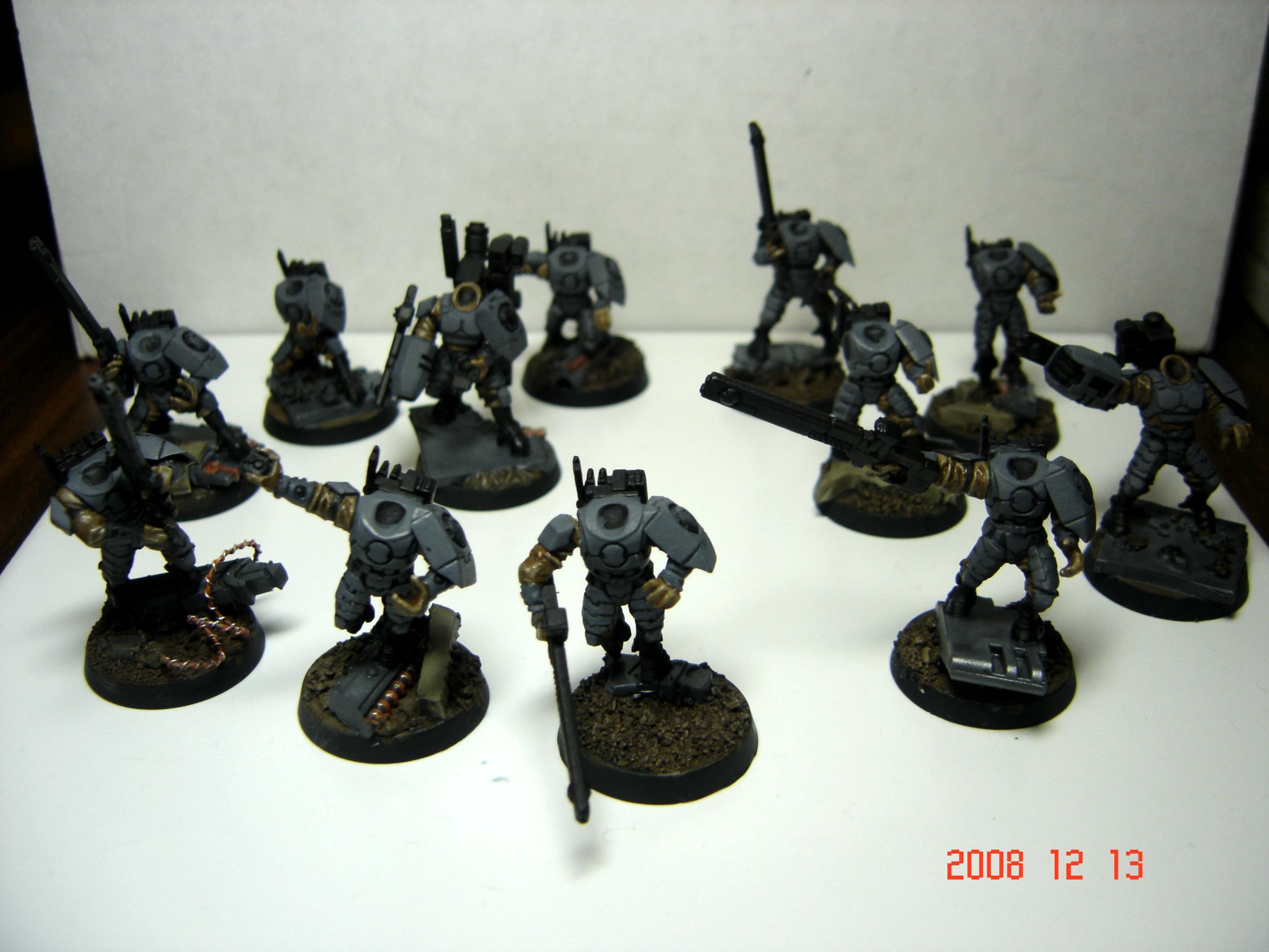Fire Warriors, Gundam, Stonefox, Tau, Urban, Work In Progress