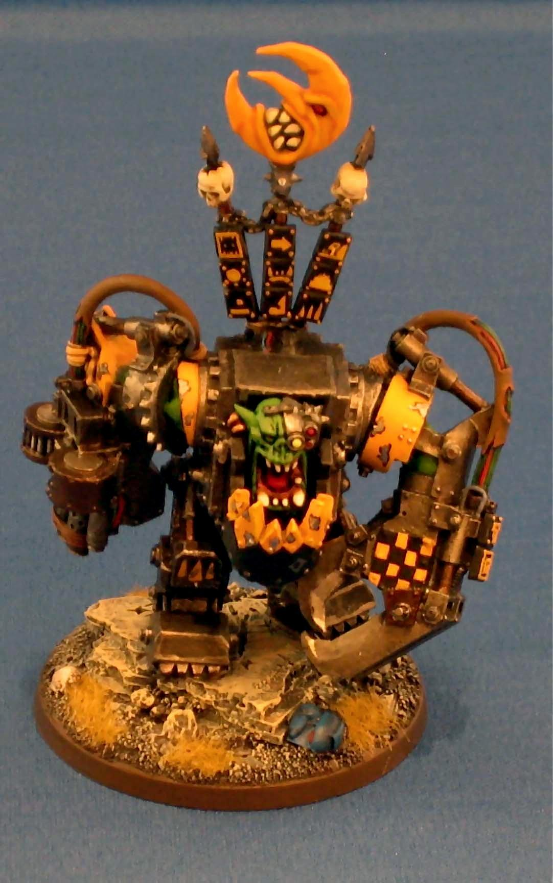 Bad Moons, Conversion, Mega Armor, Orks, Warhammer 40,000