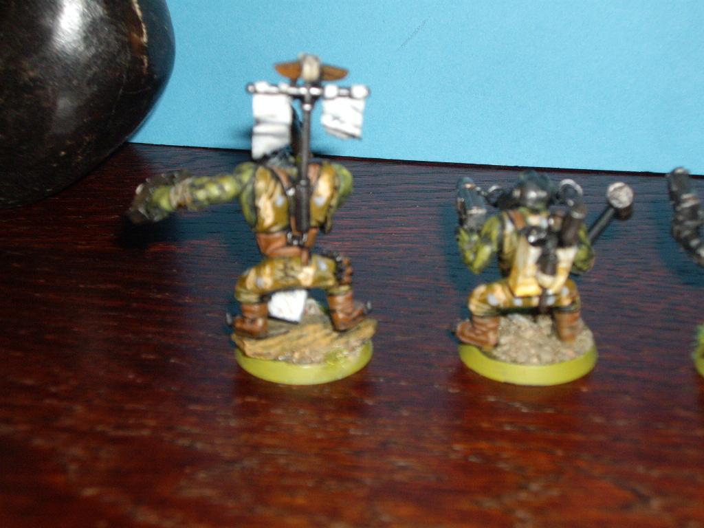 Blurred Photo, Orks, a couple of backs