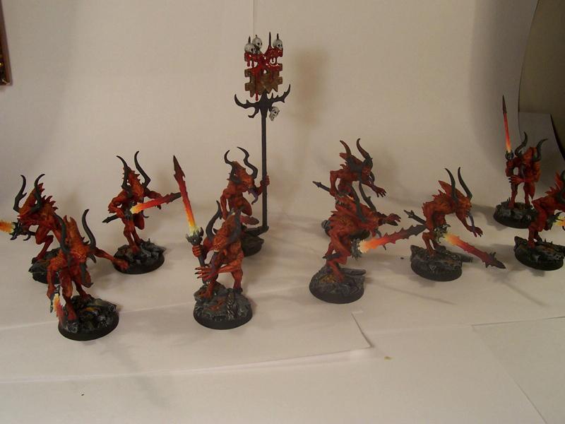 Bloodletters, Daemons, Khorne